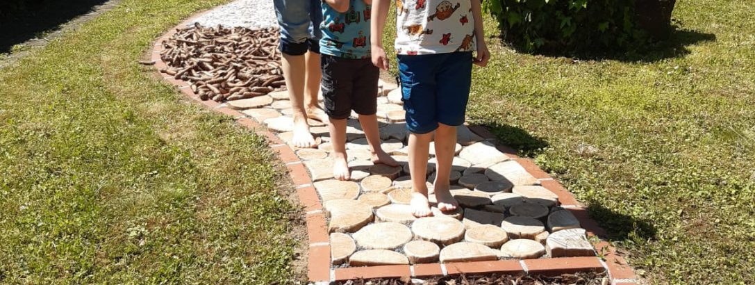 30. Juni Tag des Fußes – Einweihung des Barfußpfades